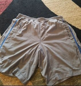 Lululemon mens shorts with liner